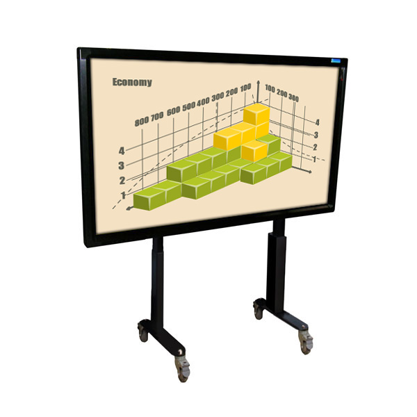 55 Inch Mobi Multi Touch Screen on Fixed Trolley