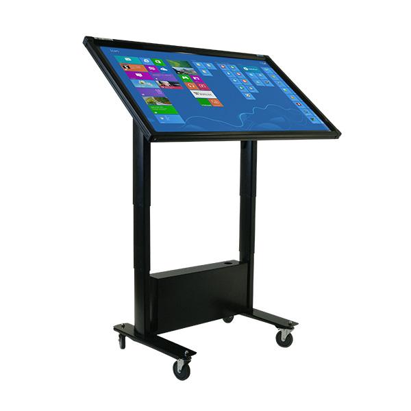 55 Inch Mobi Elite Plus Multi Touch Screen on Tilt Trolley